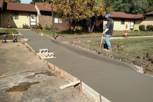 residential concrete - wise county concrete crew