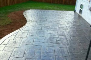 stamped concrete - wise country concrete crew